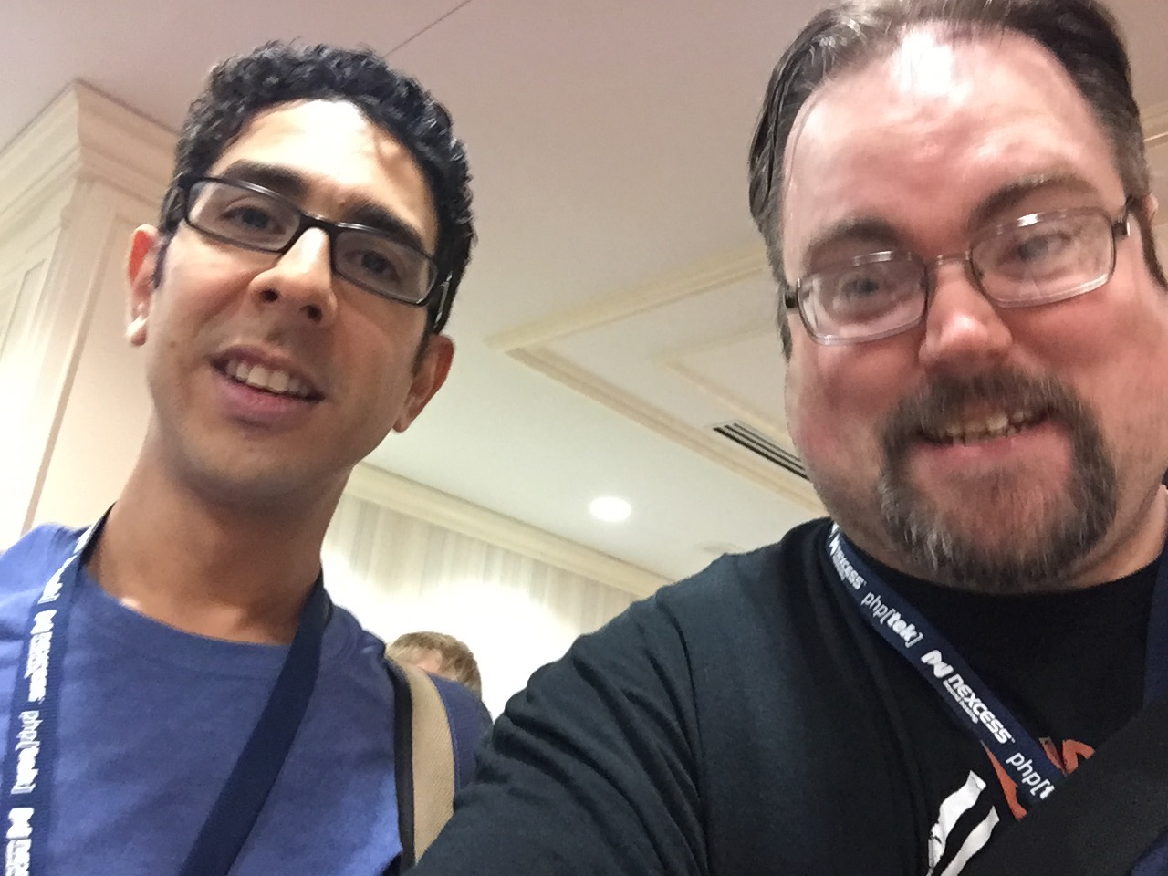 My Vector Coworker Rob Sanchez and Myself
